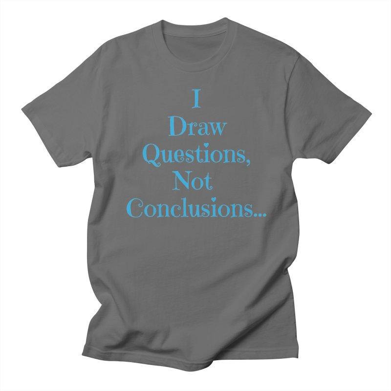 IDQNC-021 (Light Blue) Men's T-Shirt by jeffjacques's Artist Shop