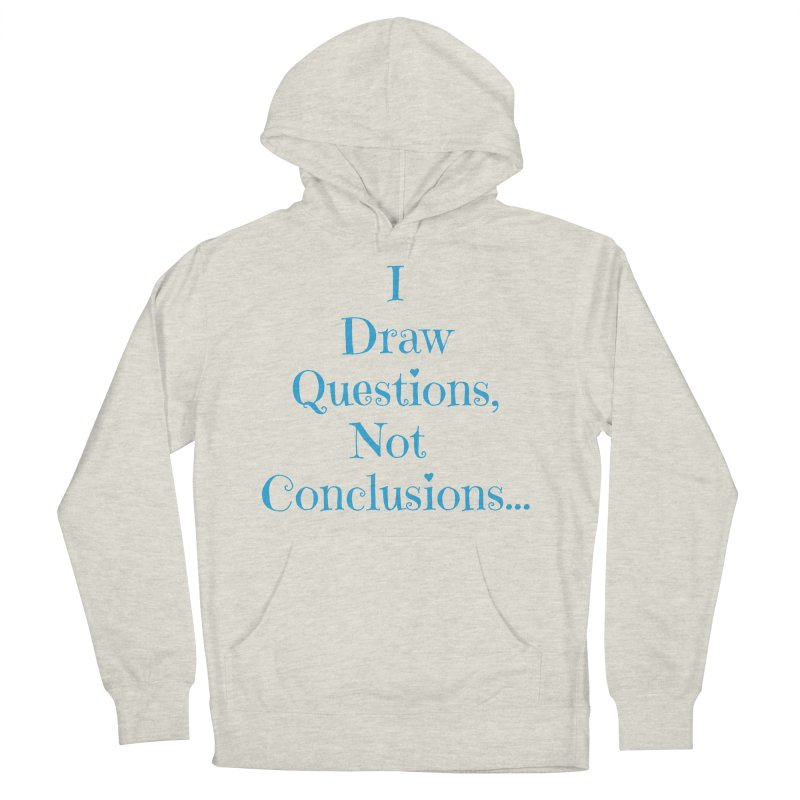 IDQNC-021 (Light Blue) Men's French Terry Pullover Hoody by jeffjacques's Artist Shop