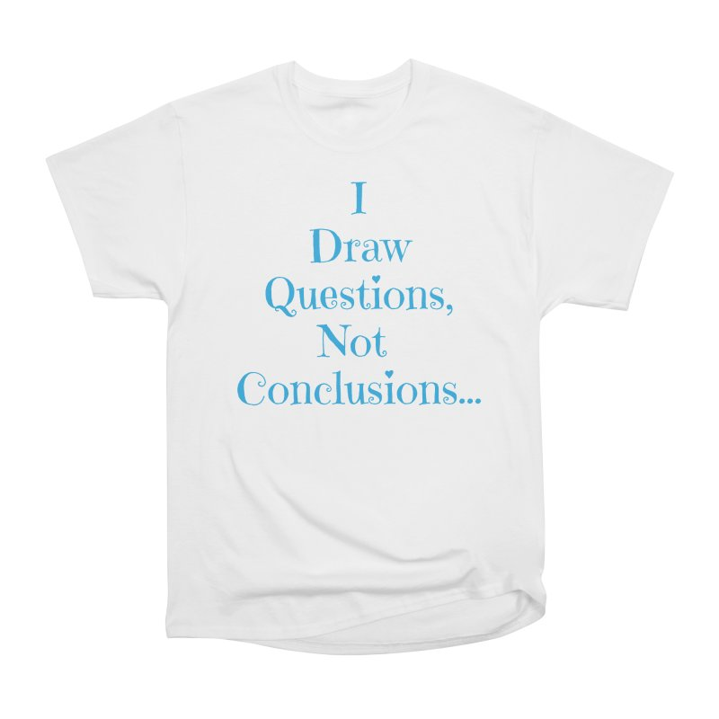 IDQNC-021 (Light Blue) Men's Heavyweight T-Shirt by jeffjacques's Artist Shop