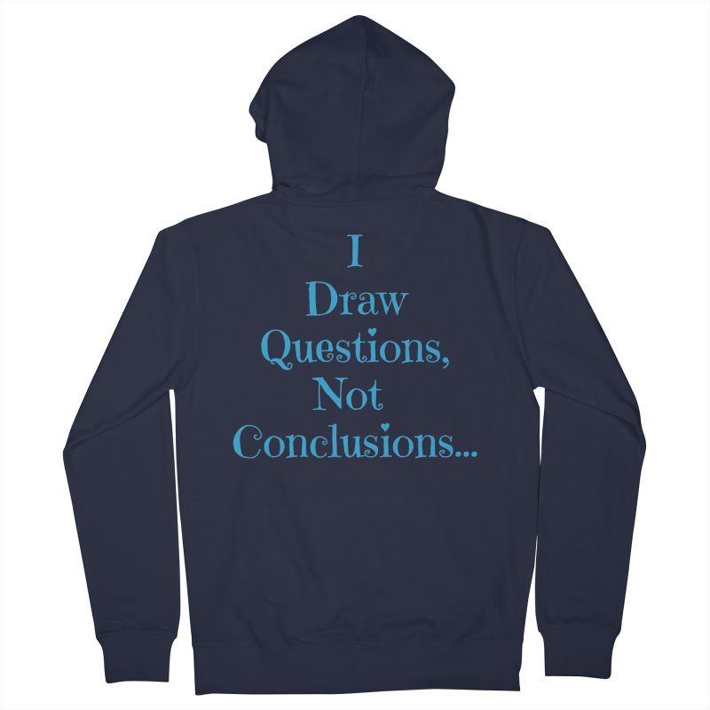 IDQNC-021 (Light Blue) Men's French Terry Zip-Up Hoody by jeffjacques's Artist Shop