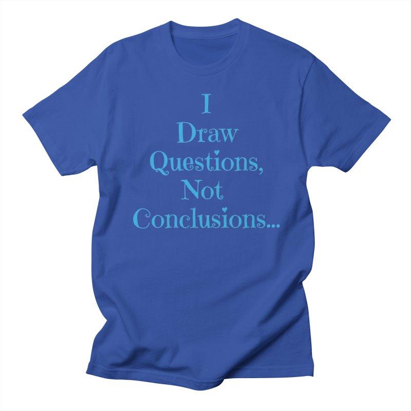 IDQNC-021 (Light Blue) Men's Regular T-Shirt by jeffjacques's Artist Shop