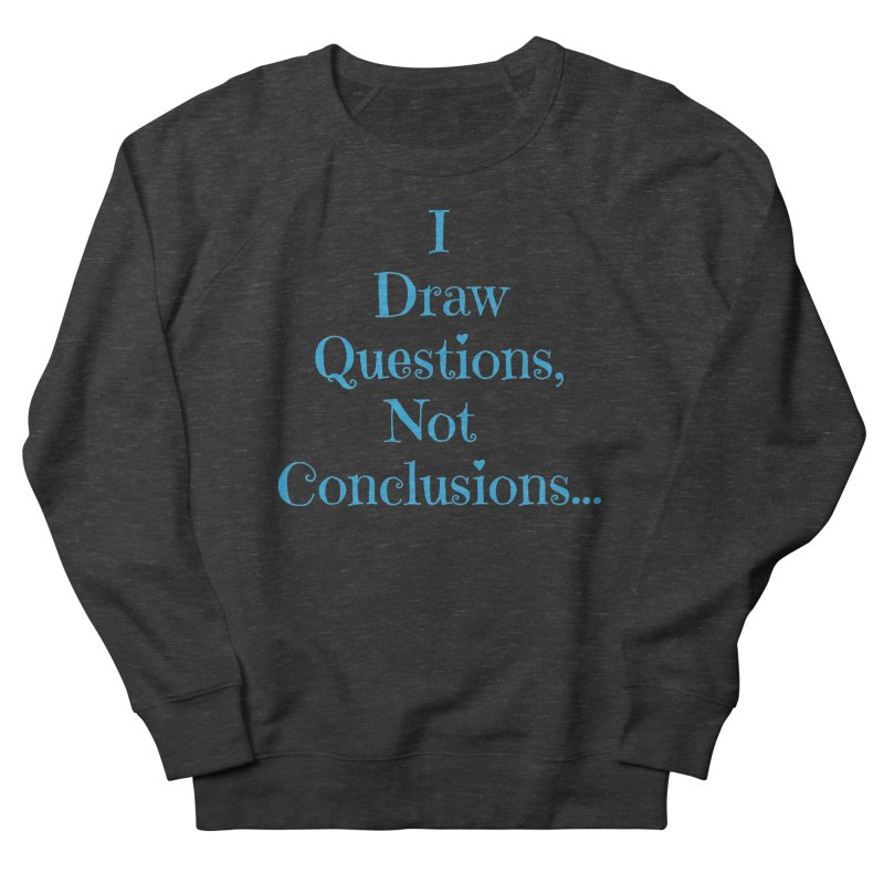 IDQNC-021 (Light Blue) Women's French Terry Sweatshirt by jeffjacques's Artist Shop