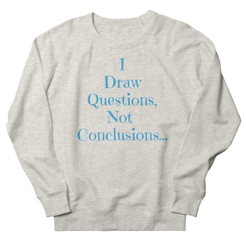 IDQNC-021 (Light Blue) Women's French Terry Sweatshirt by jeffjacques's Artist Shop