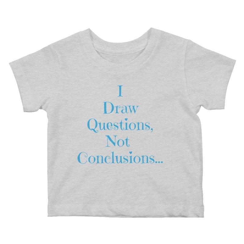 IDQNC-021 (Light Blue) Kids Baby T-Shirt by jeffjacques's Artist Shop