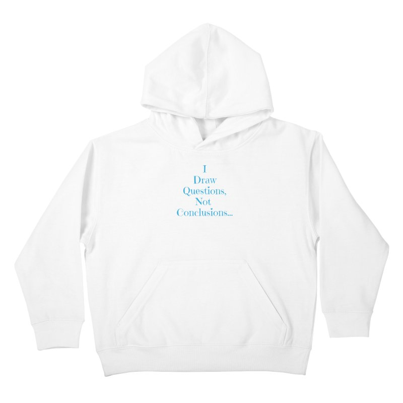 IDQNC-021 (Light Blue) Kids Pullover Hoody by jeffjacques's Artist Shop