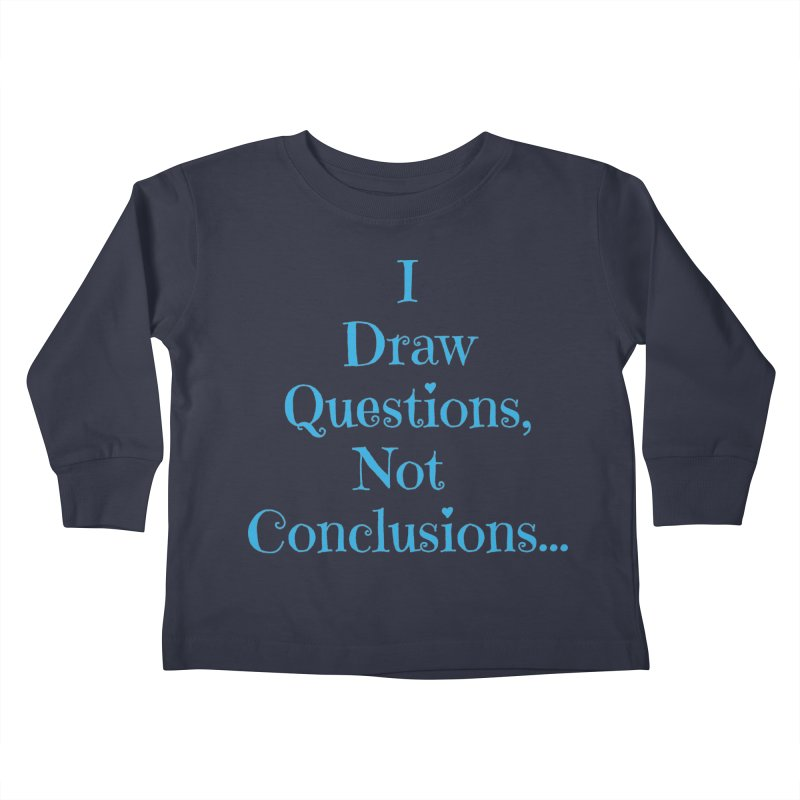 IDQNC-021 (Light Blue) Kids Toddler Longsleeve T-Shirt by jeffjacques's Artist Shop