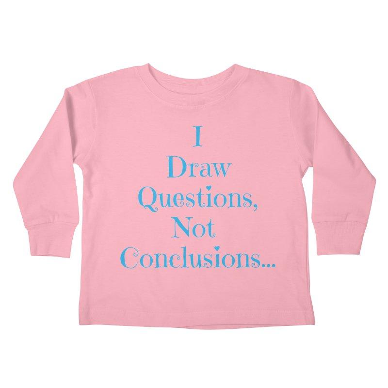 IDQNC-021 (Light Blue) Kids Toddler Longsleeve T-Shirt by jeffjacques's Artist Shop