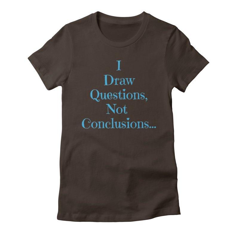 IDQNC-021 (Light Blue) Women's Fitted T-Shirt by jeffjacques's Artist Shop