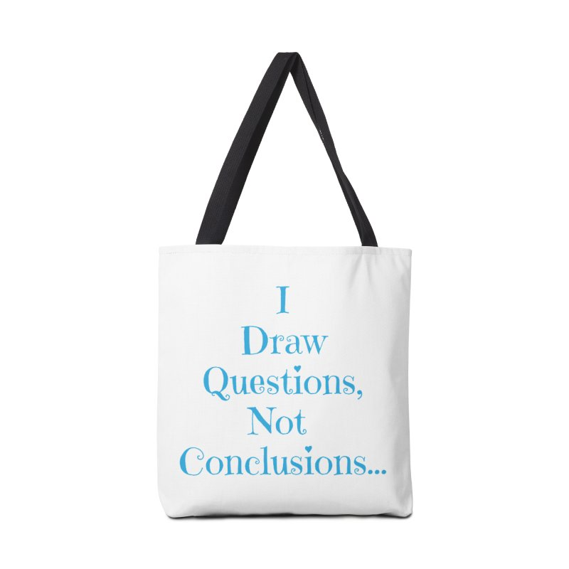 IDQNC-021 (Light Blue) Accessories Tote Bag Bag by jeffjacques's Artist Shop