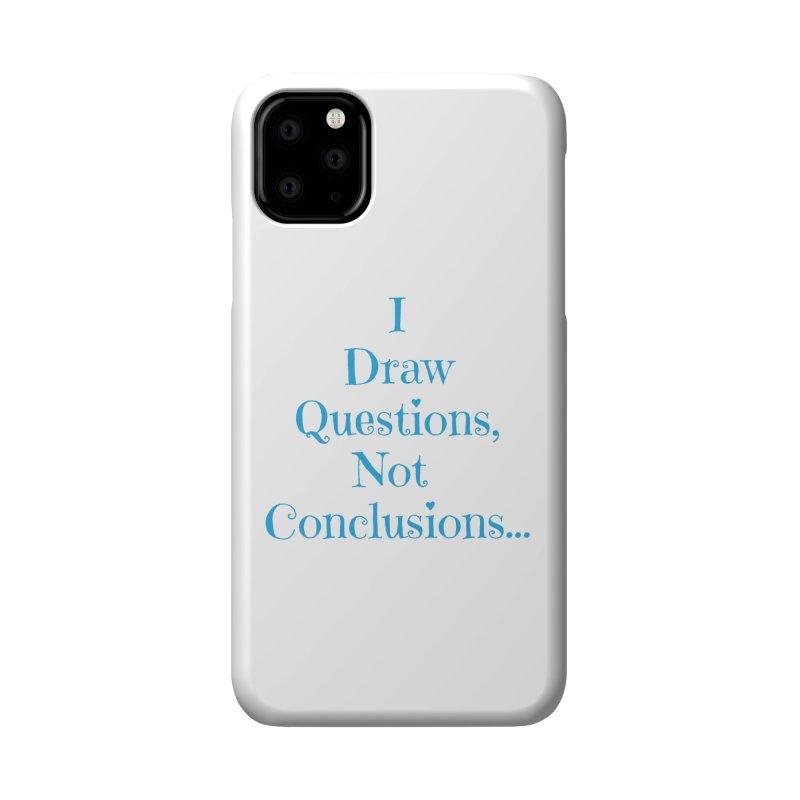 IDQNC-021 (Light Blue) Accessories Phone Case by jeffjacques's Artist Shop