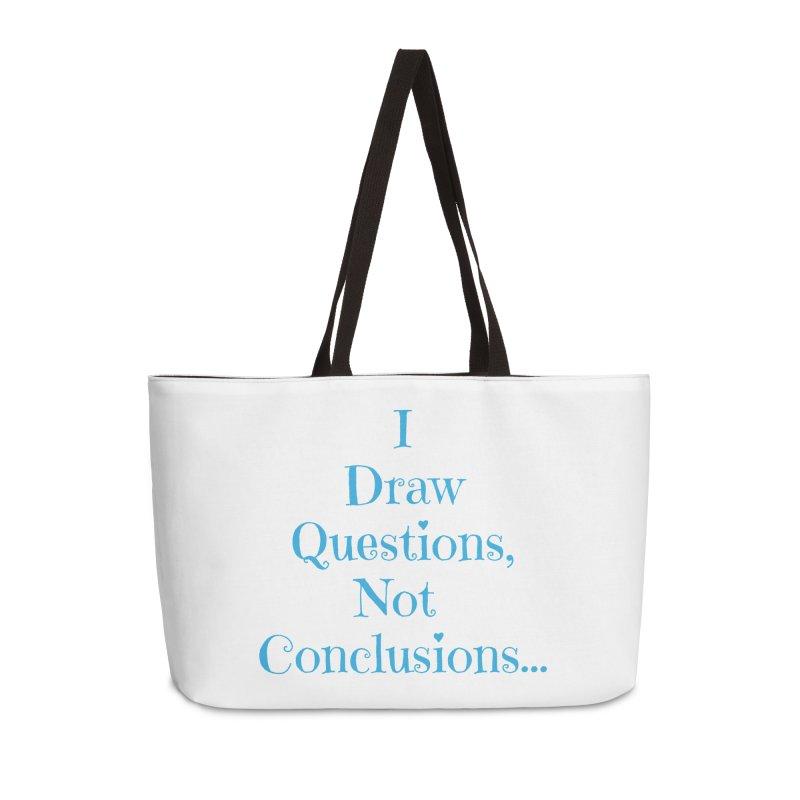 IDQNC-021 (Light Blue) Accessories Weekender Bag Bag by jeffjacques's Artist Shop