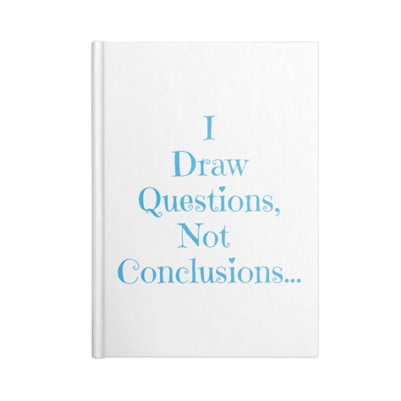 IDQNC-021 (Light Blue) Accessories Blank Journal Notebook by jeffjacques's Artist Shop
