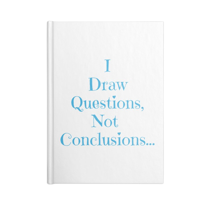 IDQNC-021 (Light Blue) Accessories Notebook by jeffjacques's Artist Shop