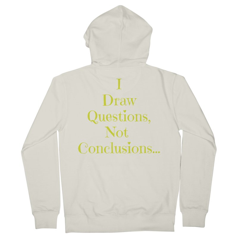 IDQNC-021 (lime) Women's French Terry Zip-Up Hoody by jeffjacques's Artist Shop