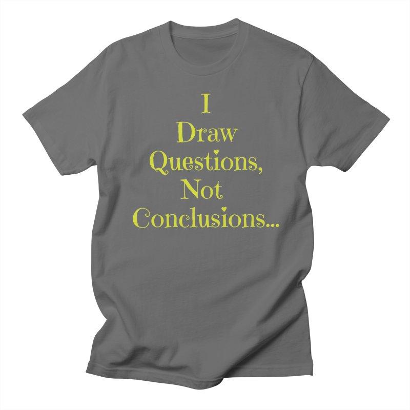 IDQNC-021 (lime) Men's T-Shirt by jeffjacques's Artist Shop