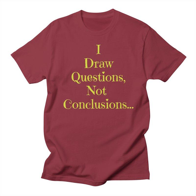 IDQNC-021 (lime) Men's Regular T-Shirt by jeffjacques's Artist Shop