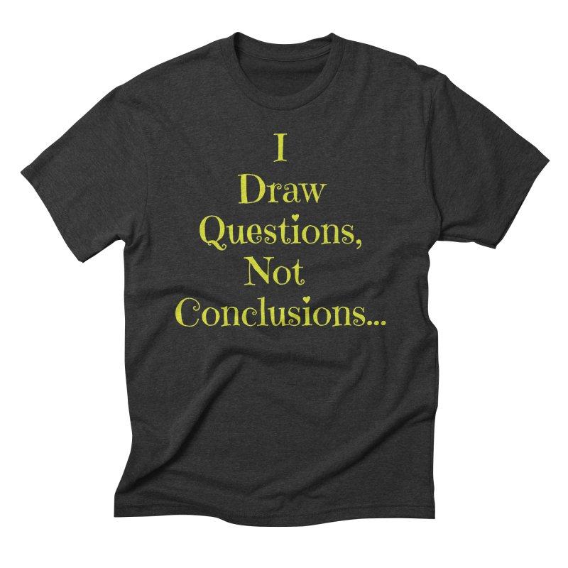 IDQNC-021 (lime) Men's Triblend T-Shirt by jeffjacques's Artist Shop