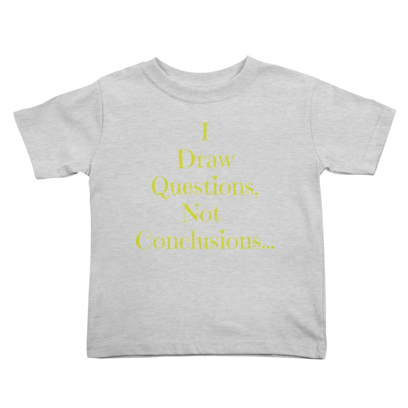 IDQNC-021 (lime) Kids Toddler T-Shirt by jeffjacques's Artist Shop