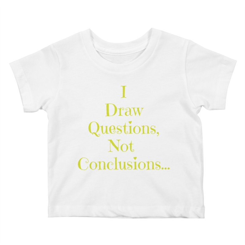 IDQNC-021 (lime) Kids Baby T-Shirt by jeffjacques's Artist Shop