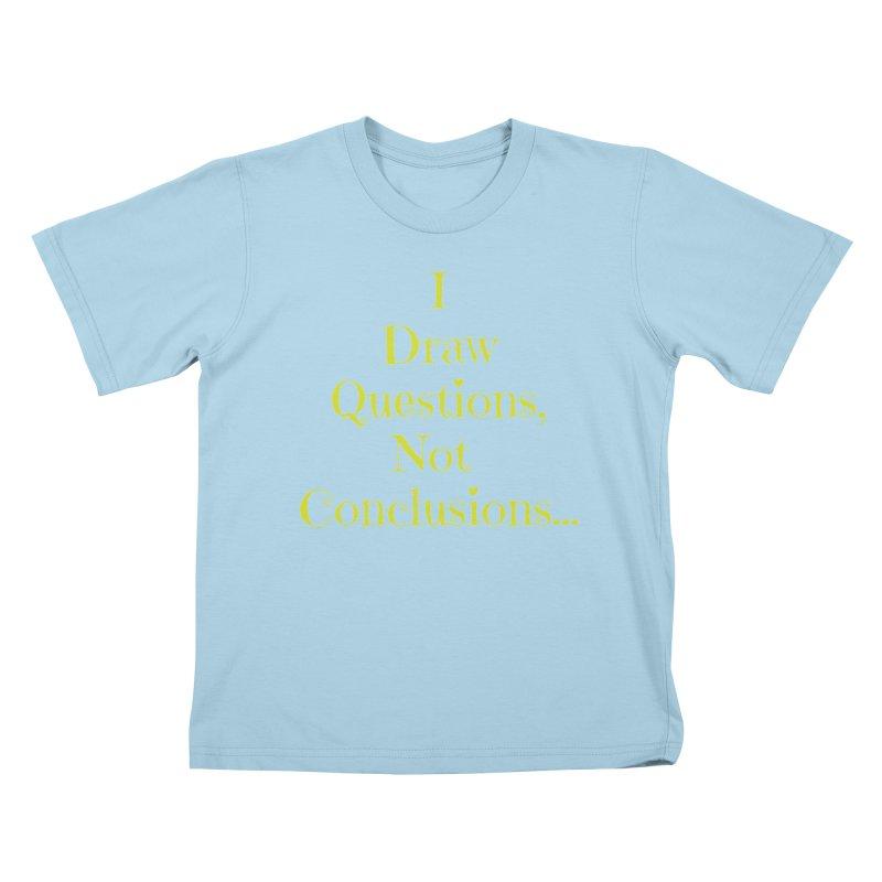 IDQNC-021 (lime) Kids T-Shirt by jeffjacques's Artist Shop
