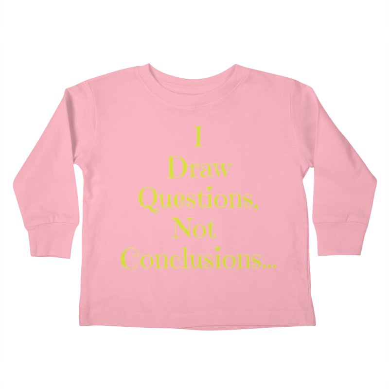 IDQNC-021 (lime) Kids Toddler Longsleeve T-Shirt by jeffjacques's Artist Shop