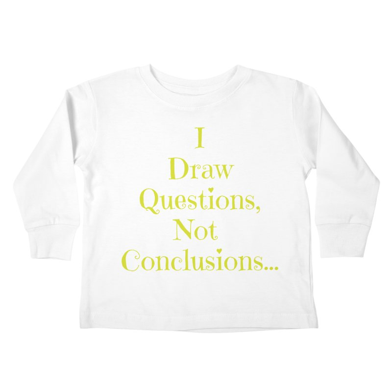 IDQNC-021 (lime) Kids Toddler Longsleeve T-Shirt by jeffjacques's Artist Shop