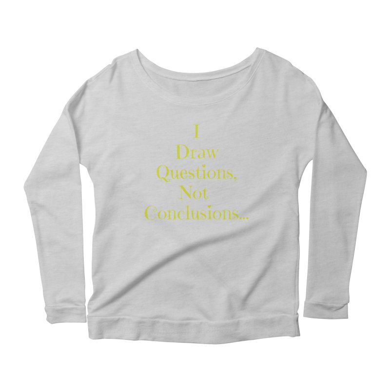 IDQNC-021 (lime) Women's Scoop Neck Longsleeve T-Shirt by jeffjacques's Artist Shop