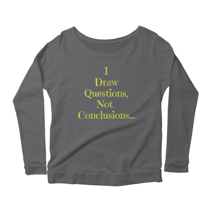 IDQNC-021 (lime) Women's Scoop Neck Longsleeve T-Shirt by jeffjacques's Artist Shop