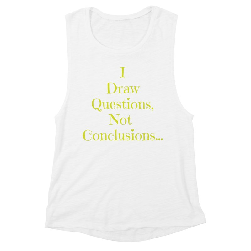 IDQNC-021 (lime) Women's Muscle Tank by jeffjacques's Artist Shop