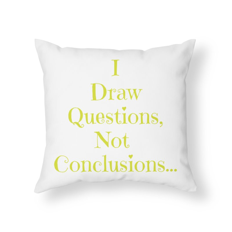 IDQNC-021 (lime) Home Throw Pillow by jeffjacques's Artist Shop