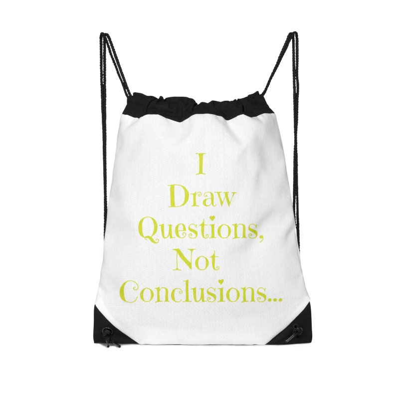 IDQNC-021 (lime) Accessories Drawstring Bag Bag by jeffjacques's Artist Shop