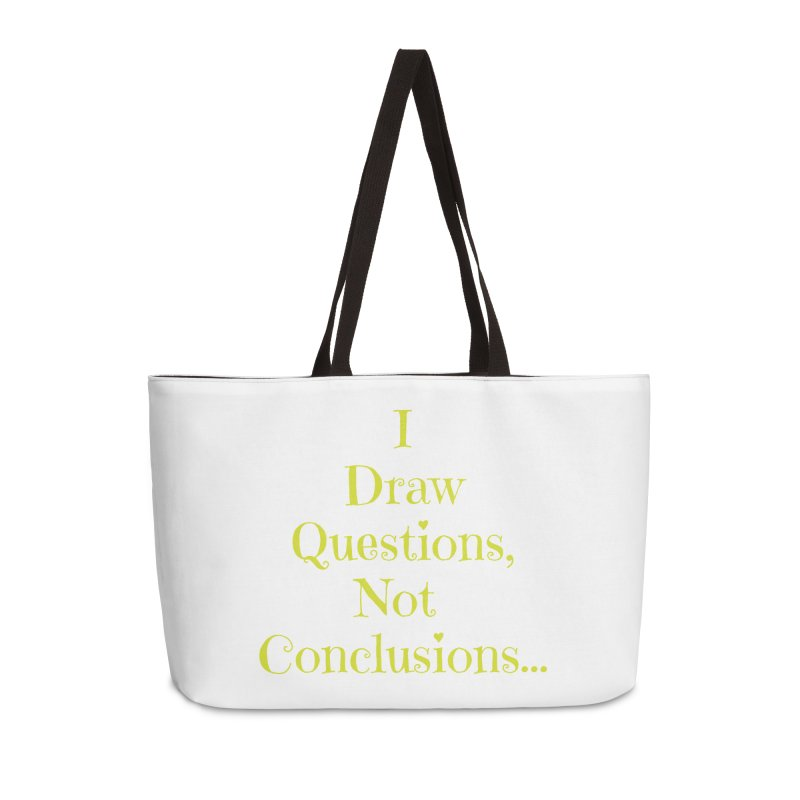 IDQNC-021 (lime) Accessories Weekender Bag Bag by jeffjacques's Artist Shop
