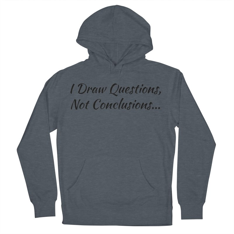 IDQNC-022 (black) Men's French Terry Pullover Hoody by jeffjacques's Artist Shop