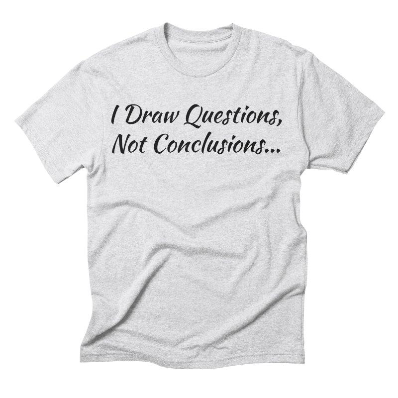 IDQNC-022 (black) Men's Triblend T-Shirt by jeffjacques's Artist Shop