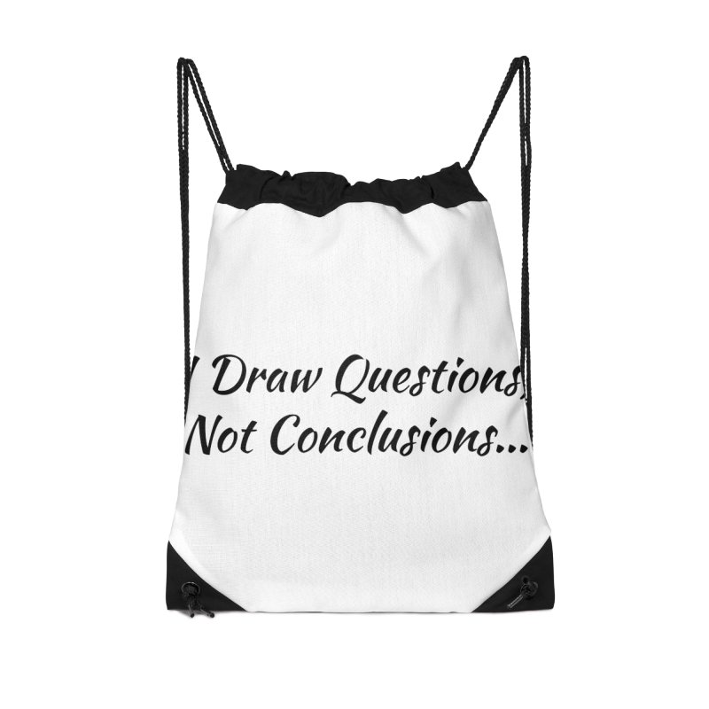 IDQNC-022 (black) Accessories Drawstring Bag Bag by jeffjacques's Artist Shop