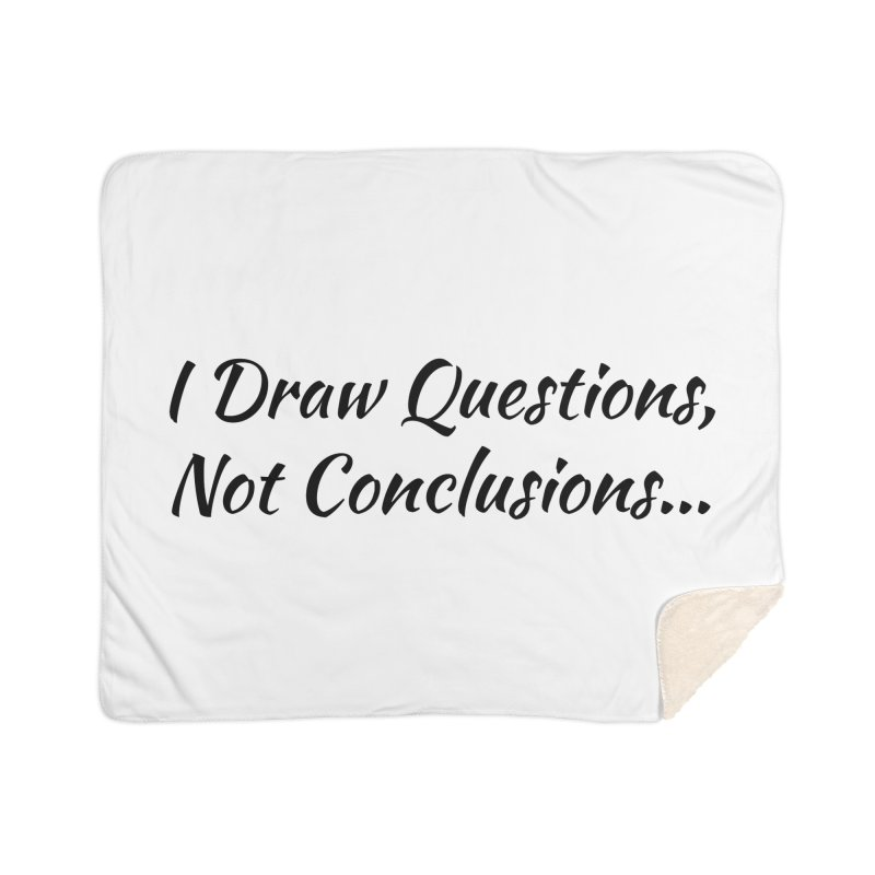 IDQNC-022 (black) Home Blanket by jeffjacques's Artist Shop