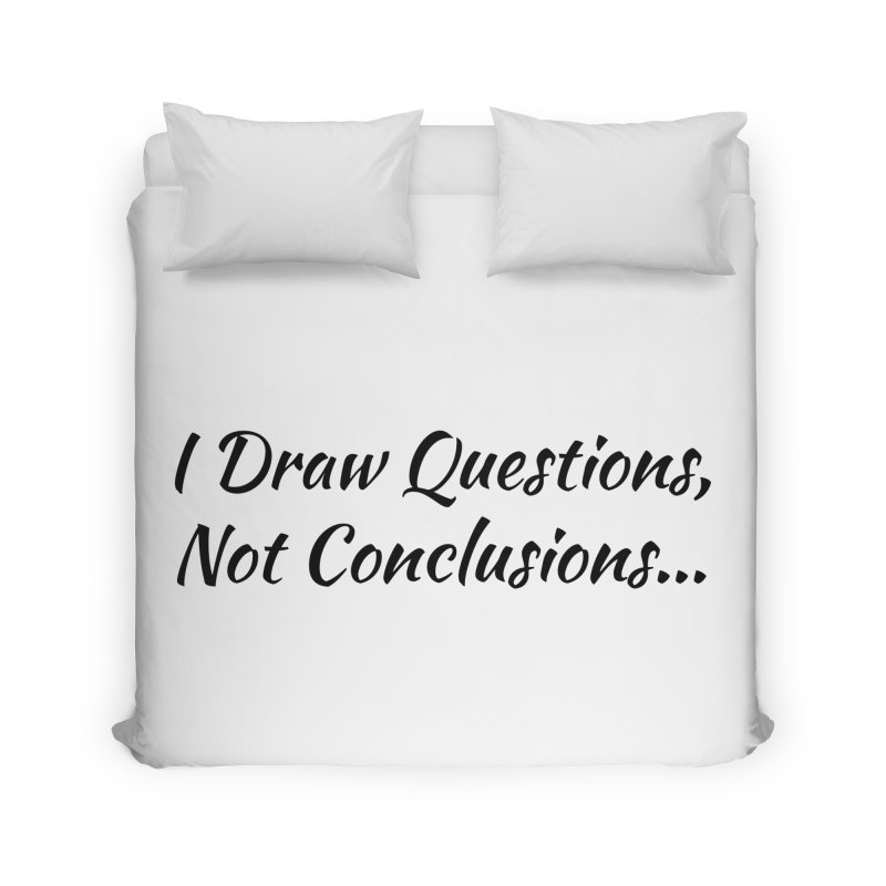 IDQNC-022 (black) Home Duvet by jeffjacques's Artist Shop