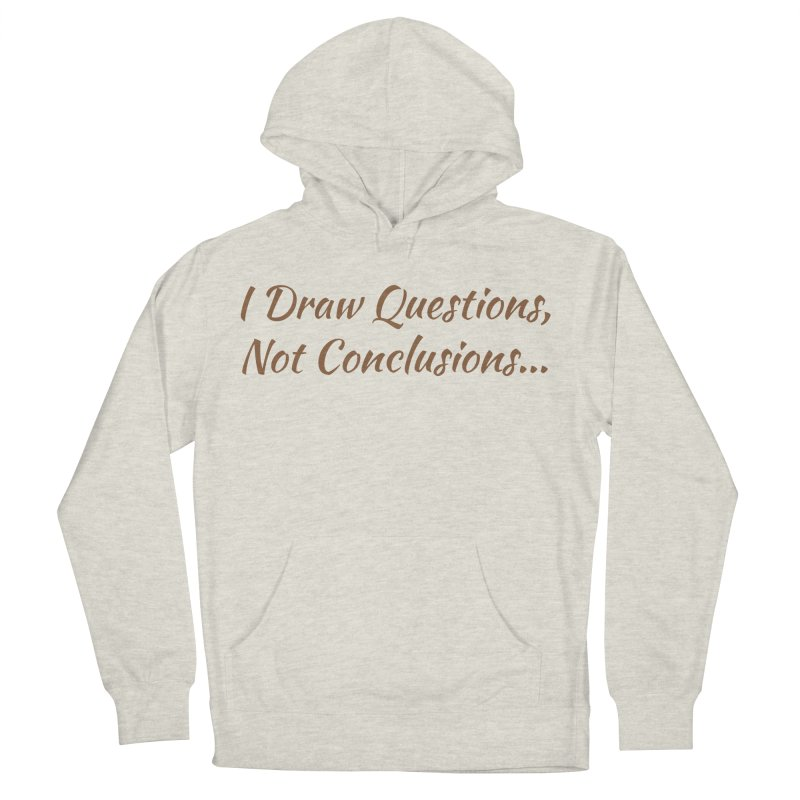 IDQNC-022 (brown) Women's French Terry Pullover Hoody by jeffjacques's Artist Shop