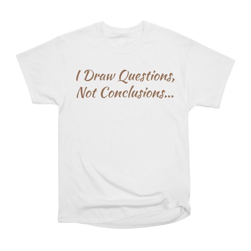 IDQNC-022 (brown) Women's Heavyweight Unisex T-Shirt by jeffjacques's Artist Shop