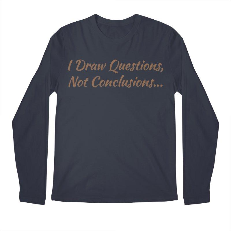 IDQNC-022 (brown) Men's Regular Longsleeve T-Shirt by jeffjacques's Artist Shop