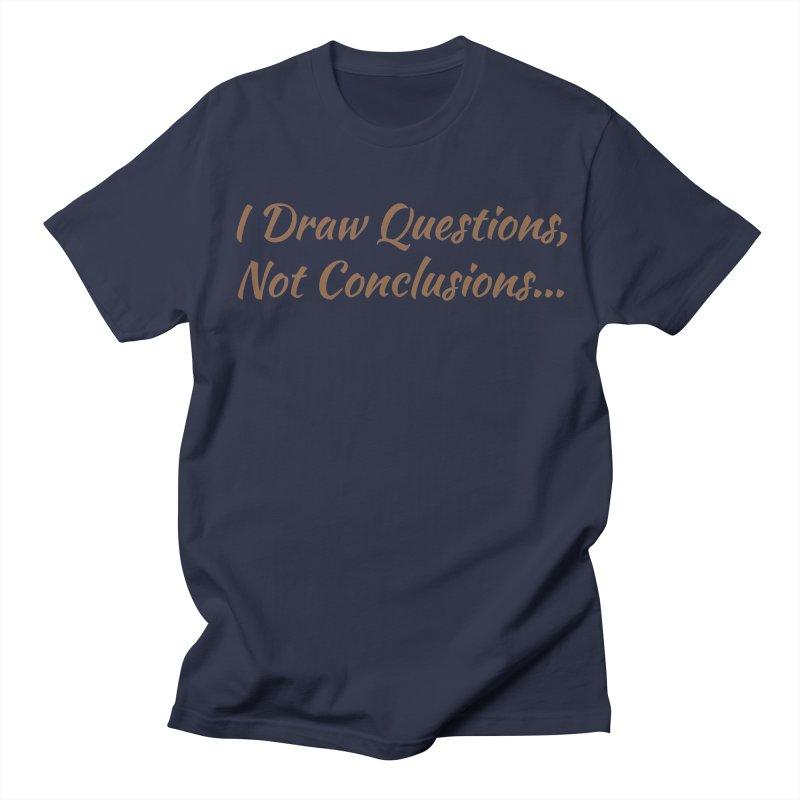 IDQNC-022 (brown) Men's Regular T-Shirt by jeffjacques's Artist Shop