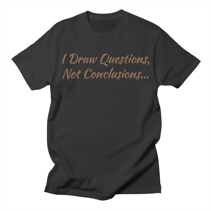 IDQNC-022 (brown) Women's Regular Unisex T-Shirt by jeffjacques's Artist Shop