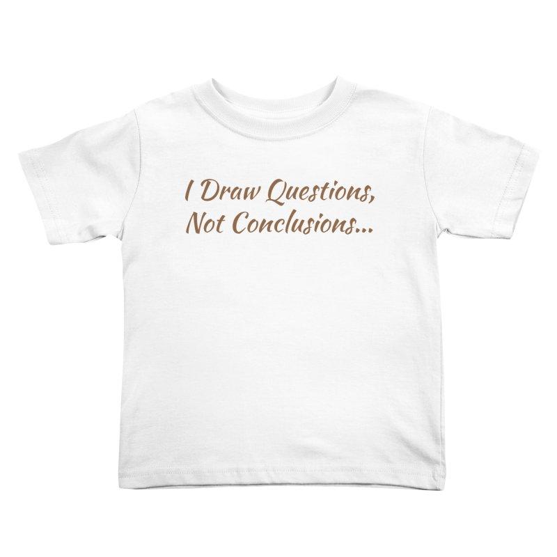 IDQNC-022 (brown) Kids Toddler T-Shirt by jeffjacques's Artist Shop