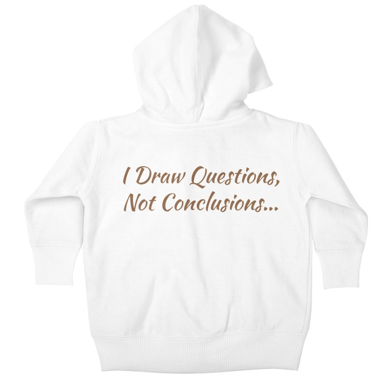 IDQNC-022 (brown) Kids Baby Zip-Up Hoody by jeffjacques's Artist Shop