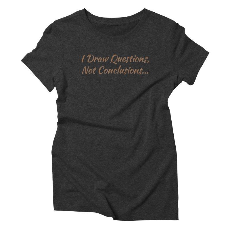 IDQNC-022 (brown) Women's Triblend T-Shirt by jeffjacques's Artist Shop