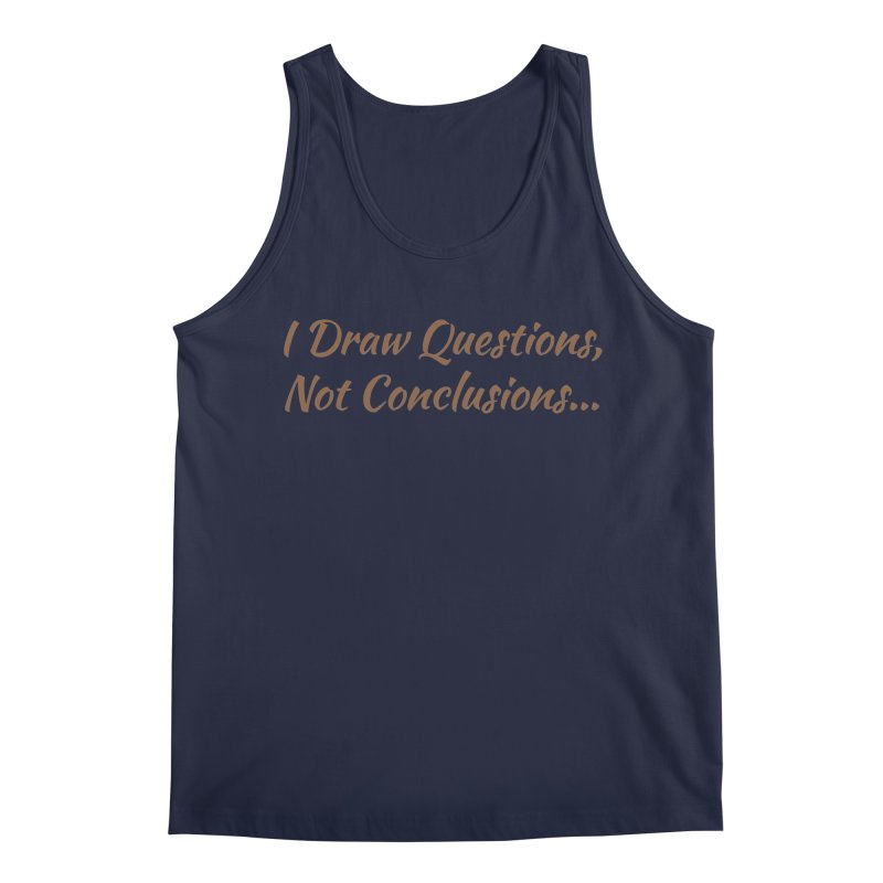 IDQNC-022 (brown) Men's Regular Tank by jeffjacques's Artist Shop