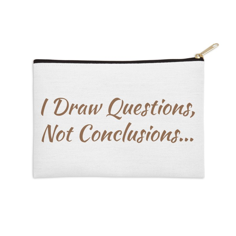 IDQNC-022 (brown) Accessories Zip Pouch by jeffjacques's Artist Shop