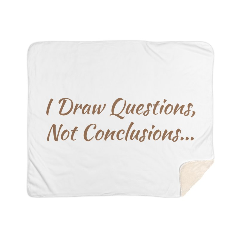 IDQNC-022 (brown) Home Sherpa Blanket Blanket by jeffjacques's Artist Shop