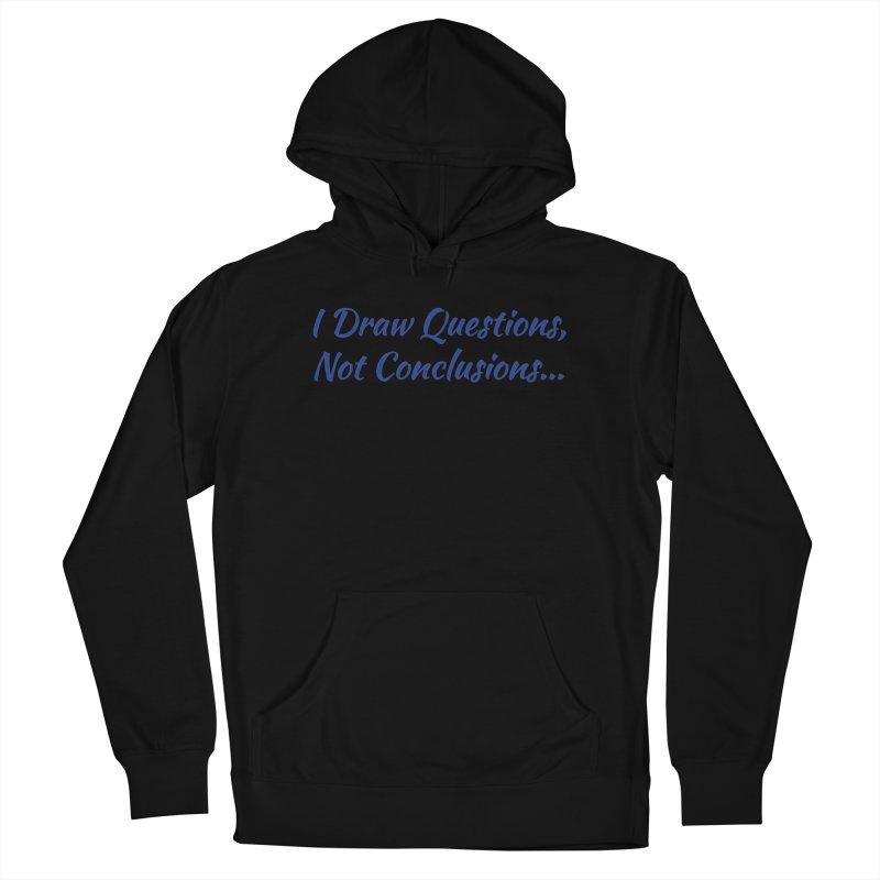 IDQNC-022 (Dark Blue) Women's Pullover Hoody by jeffjacques's Artist Shop