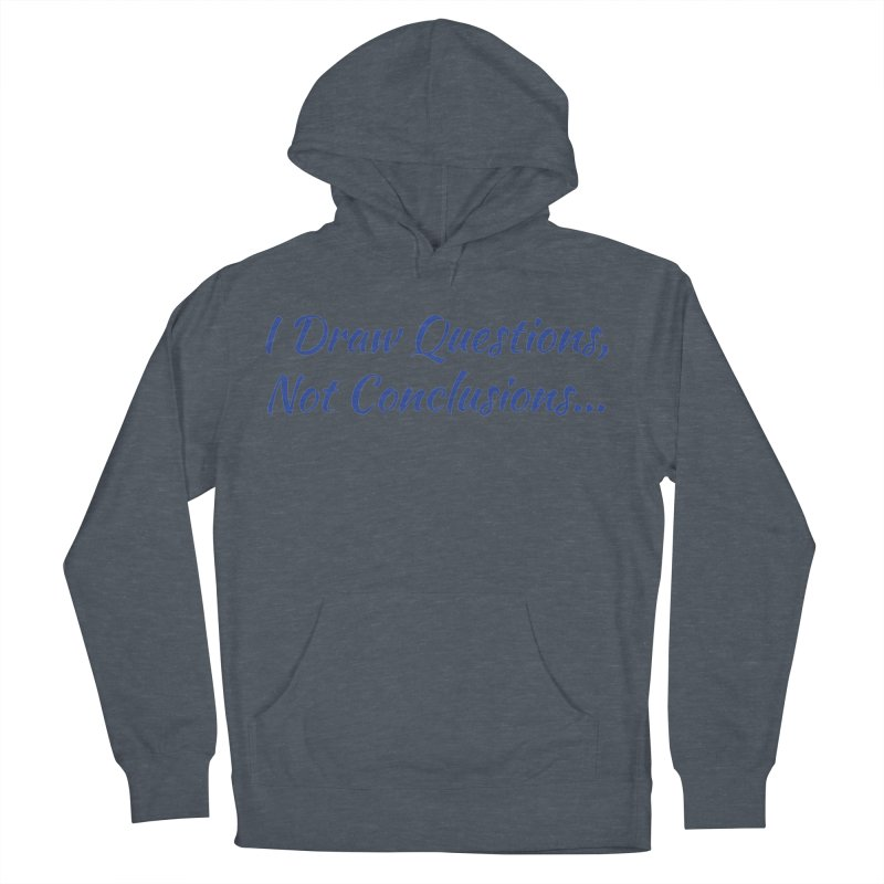 IDQNC-022 (Dark Blue) Women's French Terry Pullover Hoody by jeffjacques's Artist Shop